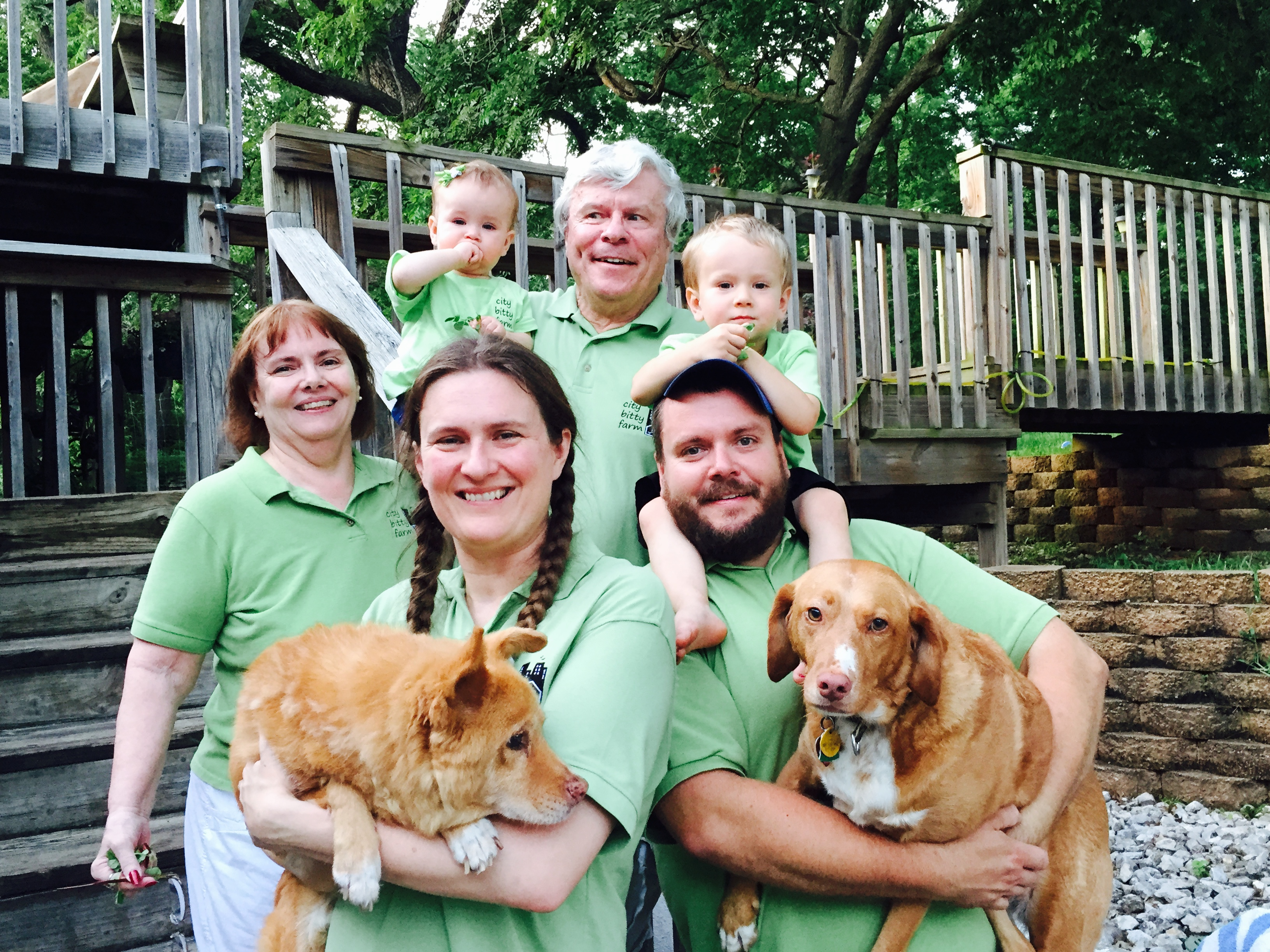 City Bitty Farm - Family Photo Summer 2015